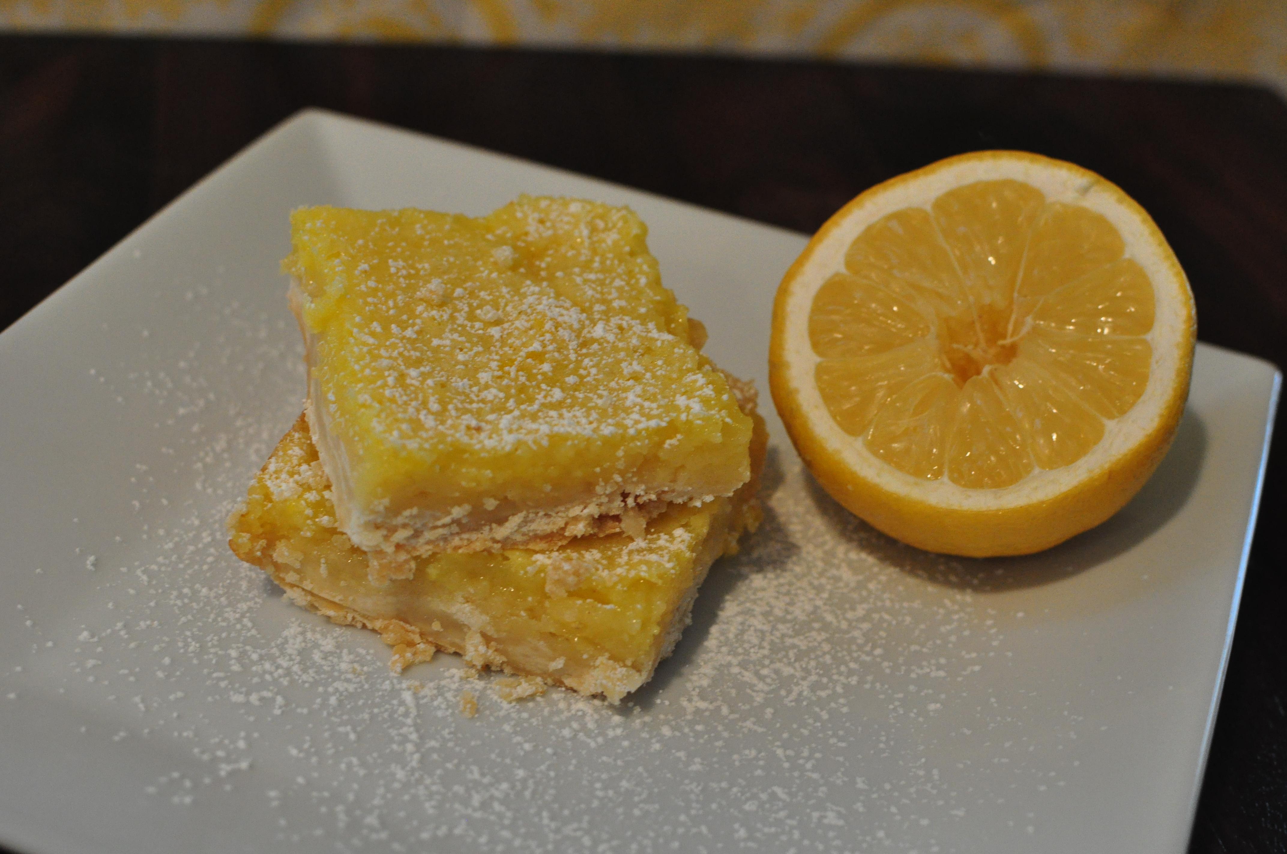 Classic Southern Dessert Series: Lemon Bars | Meg's Everyday ...