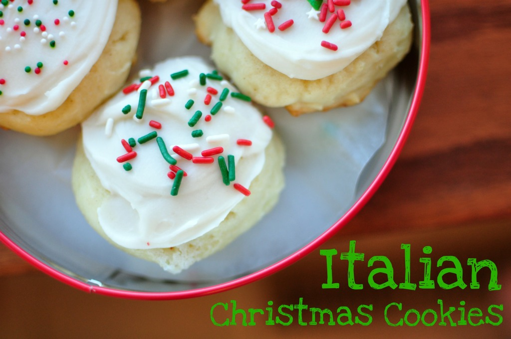 Italian Christmas Cookies {12 Weeks of Christmas Cookies}